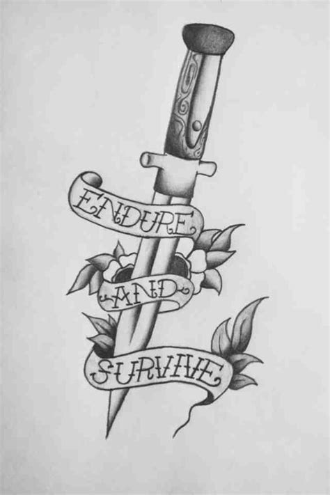knife tattoo - Google Search   Traditional tattoo, Knife