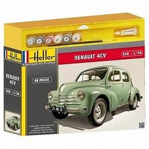 Jeux De Voiture Renault : maquette voiture kit complet renault 4 cv jeux et jouets heller avenue des jeux ~ Medecine-chirurgie-esthetiques.com Avis de Voitures