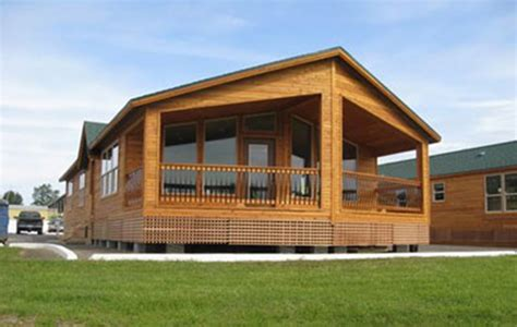 Modular Log Cabin Mobile Homes