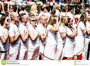 Gay Pride Canal Parade Amsterdam 2014 Editorial Image ...
