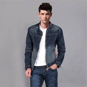 Dark Blue Denim Jacket Mens - Jacket To