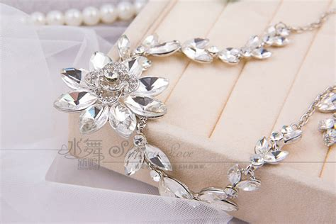 Wedding Jewelry Sets For Brides : Buy Wholesale Unique Wedding Jewelry Sets Flower Crystal