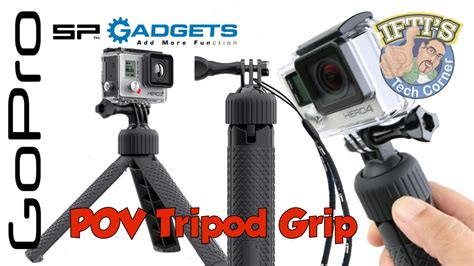 sp gadgets tripod grip for gopro review youtube