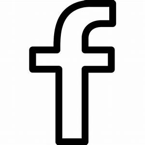 Facebook logo outline - Free social icons