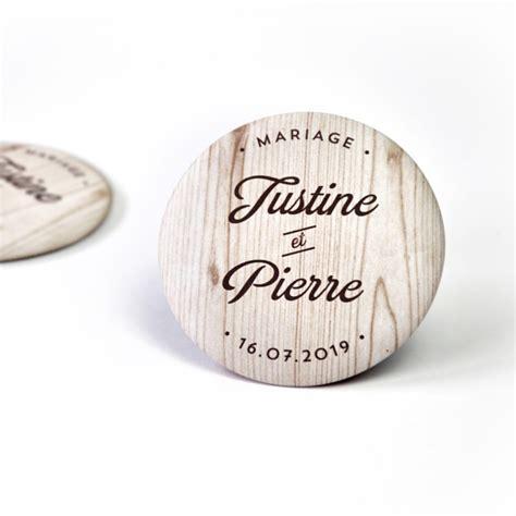 magnets personnalises pour votre mariage champetre