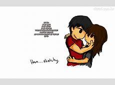 desenhos tumblr casal apaixonado papel pintado