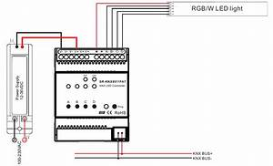 Constant Current Rgbw Knx Controller Sr