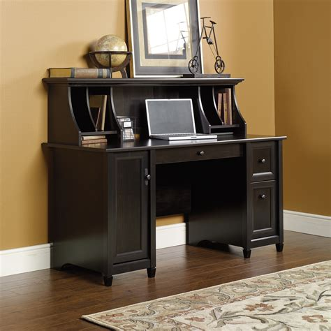 desk and hutch set edge water computer desk with hutch set ps1016 sauder