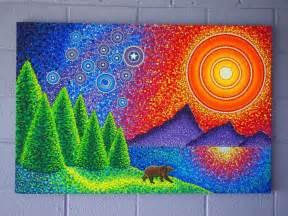 Aboriginal Dot Painting Art