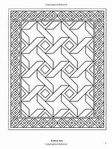 Coloring Quilt Pages Patchwork Adult Traditional Books sketch template