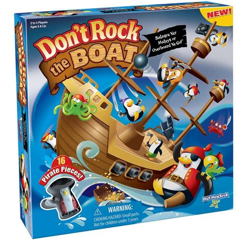Don T Rock The Boat Playmonster by Great Price Playmonster Don T Rock The Boat Skill