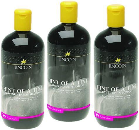 horse hint tint lincoln shampoo