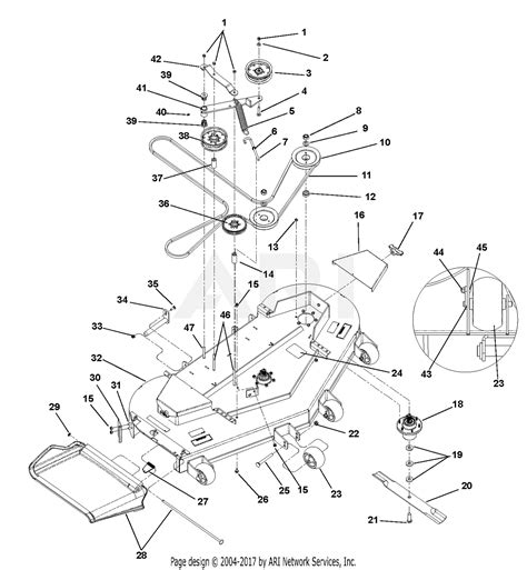 gravely   gchkws parts diagram