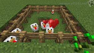 Basic Chicken Farm Tutorial   Minecraft 101