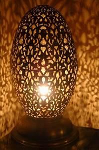 Lampe à Poser Originale : artisanat maroc lampe ambiance lampe poser en cuivre ~ Dailycaller-alerts.com Idées de Décoration