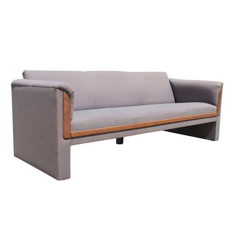 mid century sofa 2 mid century modern sofa with walnut trim ebay