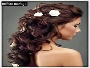 Coiffure Femme Pour Mariage : coiffure de mariage 2014 coiffure de mariage cheveux mi long cheveux courts youtube ~ Dode.kayakingforconservation.com Idées de Décoration