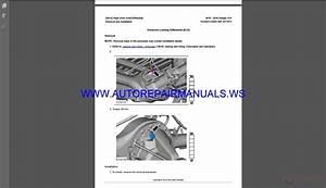 Ford Ranger 2015-2016 Px Mkii Workshop Manual