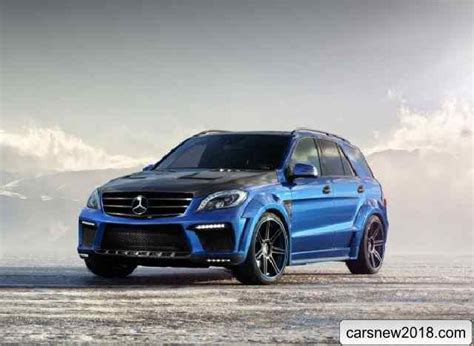 20182019 Mercedes Ml 63 Amg Inferno Tuning From Russia