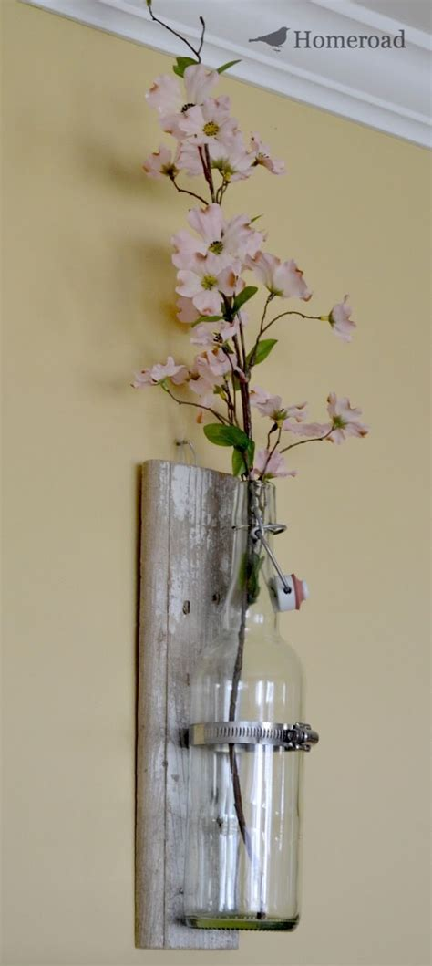 20 awesome hanging wall vases diycraftsguru - Hanging Wall Vase