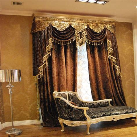 Living Room Curtain Ideas With Blinds by Custom Window Valances Select Color According To Your