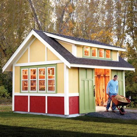 backyard shed designs that you can build to compliment