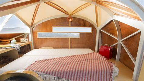 tiny huette hut   wonderful wooden teardrop camper