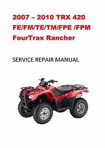 2007 Fm  Te  Tm Service Repair Manual