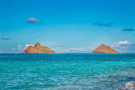 Kayaking To The Mokulua Islands In Kailua, Oahu, Hawaii