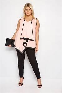 Condition Pour Etre Garant : yours london blouse rose clair noire asym trique grande taille 44 64 ~ Medecine-chirurgie-esthetiques.com Avis de Voitures