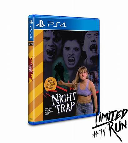Ps4 Trap Night Limited Run 32x Games