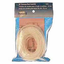 levolor kirsch 14251 traverse rod drapery cord kit