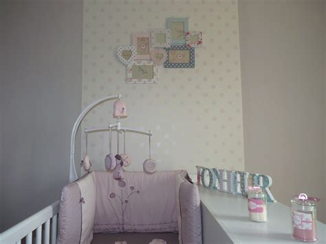chambre b b papier peint déco chambre bb fille