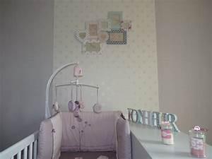 deco chambre bebe papier peint With chambre bebe papier peint