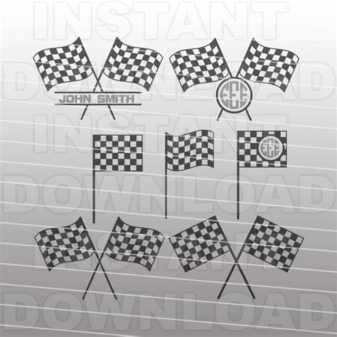 You can copy, modify, distribute and perform the work, even for commercial purposes, all without asking permission. Checkered Flag SVG File Racing SVG File Vector Art | Etsy
