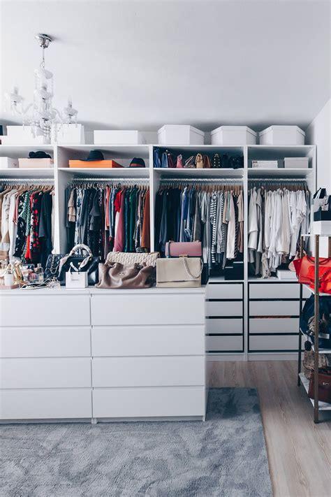 Ankleidezimmer Schrank Ikea by So Habe Ich Mein Ankleidezimmer Eingerichtet Und Gestaltet