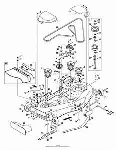 Cub Cadet Mower Deck Diagram Gt154