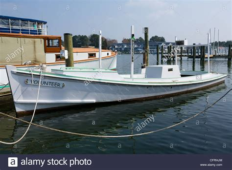 Chesapeake Bay Crab Boat by Crab Scraping Boat Replica St Maryland Talbot
