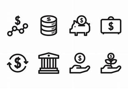 Icon Vector Business Benefit Investment System Graphics