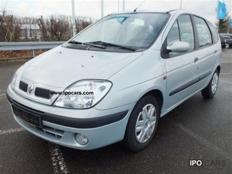 renault scenic 2002 2002 renault scenic 1 6 16v car photo and specs