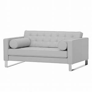 Sofa Grau Günstig : sofa chelsea 2 sitzer echtleder kufen echtleder gad grau g nstig ~ Watch28wear.com Haus und Dekorationen