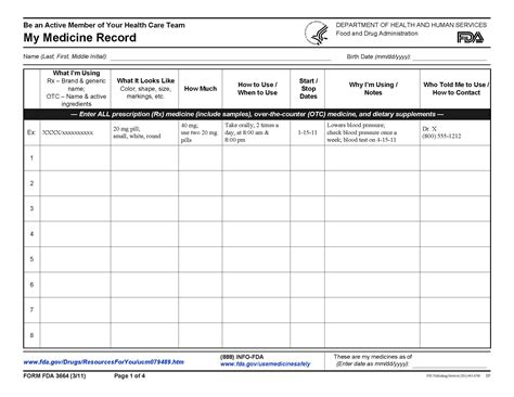 medication management worksheets activities free
