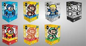 Pixel Pals Collectible 8 Bit Themed Figures Available At