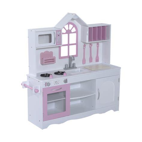 Kids Wooden Craft Pretend Play Toy Set Kitchen Toddler