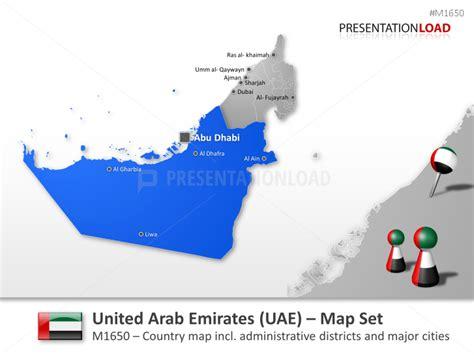 template uae ppt united arab emirates uae powerpoint map templates editable