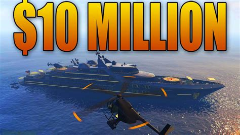 Buy A Boat For Under 10 000 by Buying And Customizing A 10 Million Super Yacht Gta