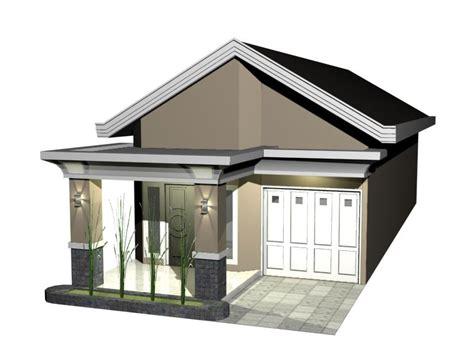 desain rumah menggunakan batu alam contoh
