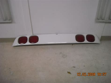fiero tail light panel anyone currently making the corvette tail light panel with