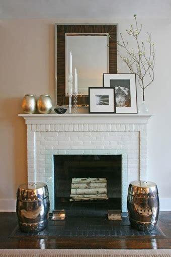 fireplace stools design ideas