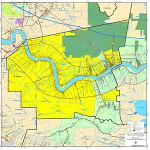 St. James Parish Louisiana Map
